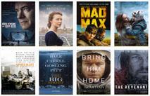"""Статьи: Номинанты на """"Оскар-2016"""". Сюрпризы и разочарования"""