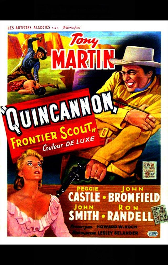 """Фільм """"Quincannon, пограничная Scout"""""""