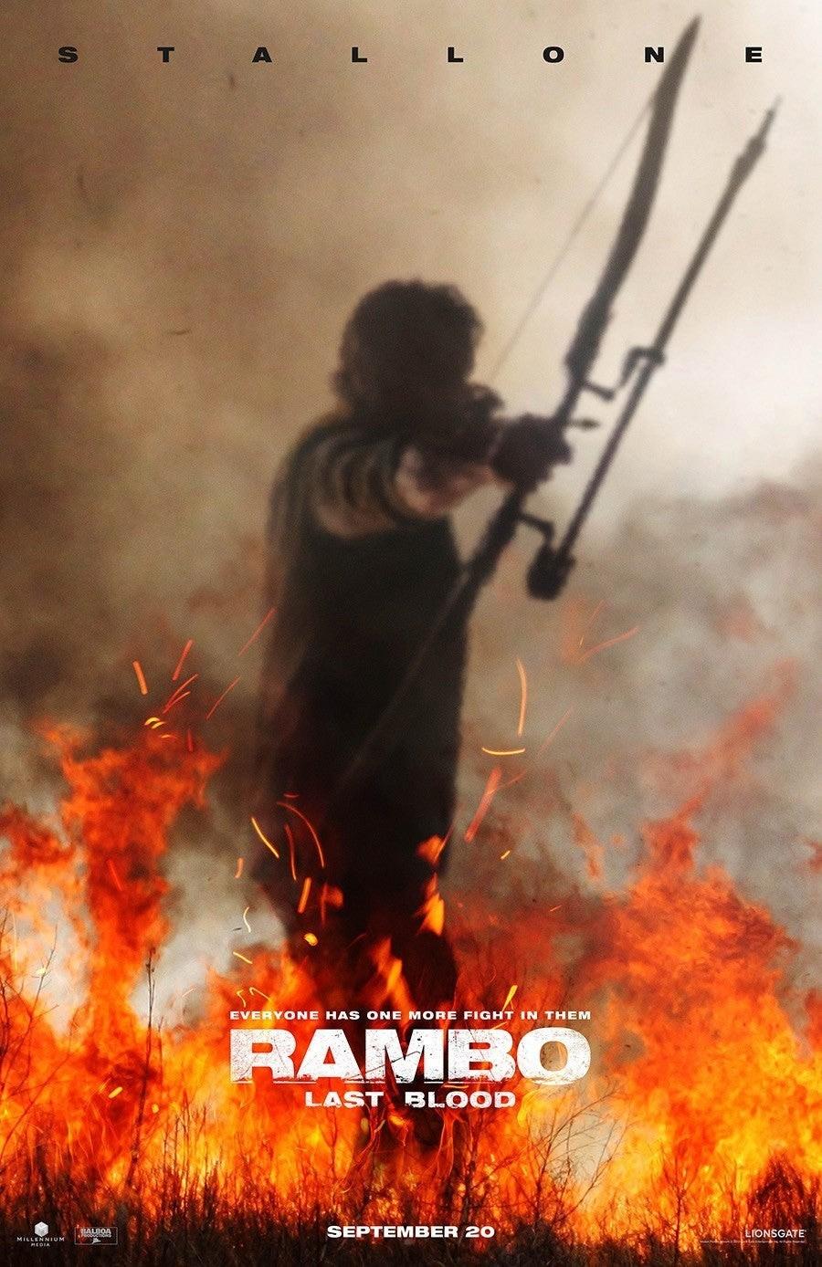 Постеры: Фильм - Рэмбо 5: Последняя кровь