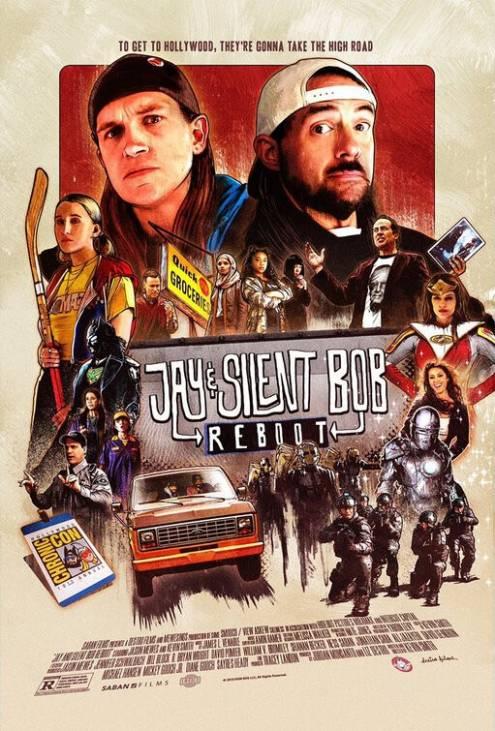 Фильм Джей и молчаливый Боб: Перезагрузка - Постеры