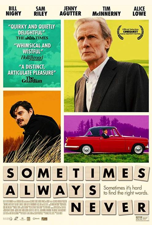 Фильм Иногда всегда никогда - Постеры