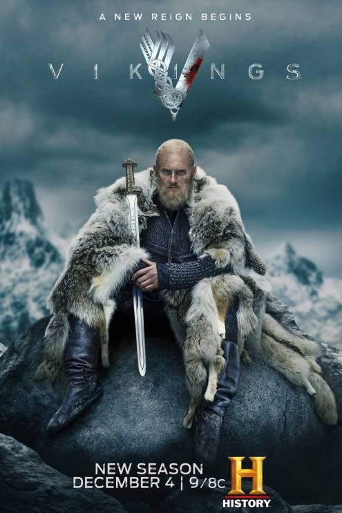 Серіал Вікінги - Постери