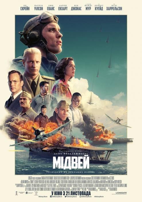 Фильм Мидуэй - Постеры