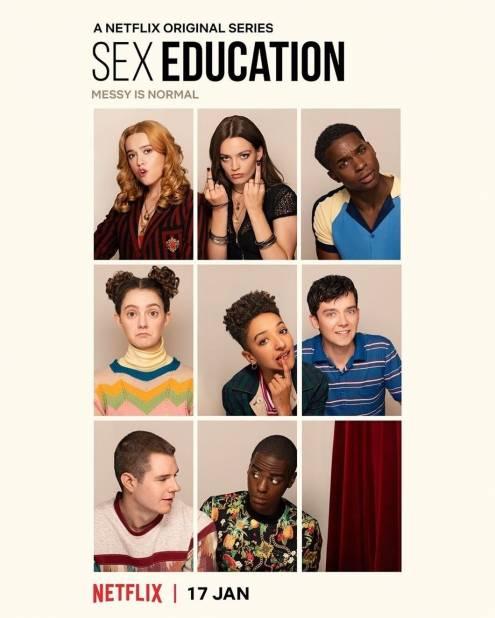 Серіал Сексуальне виховання - Постери
