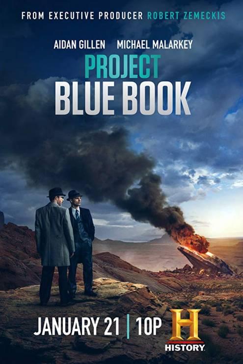 Серіал Проект «Синя книга» - Постери
