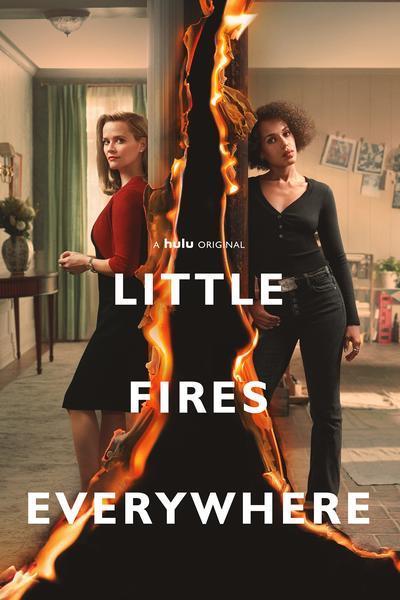 Серіал Усюди жевріють пожежі - Постери