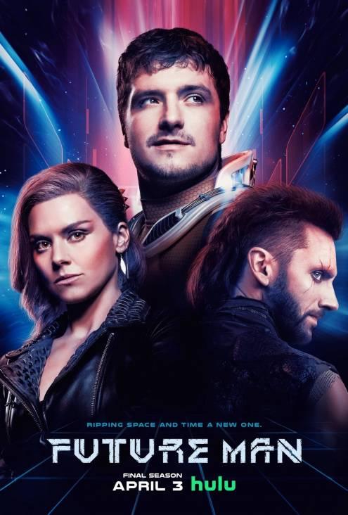 Серіал Людина майбутнього - Постери