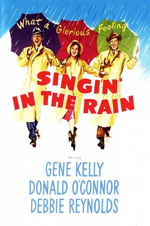 Фільм Співаючи під дощем - Постери