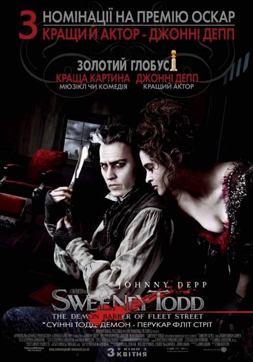 Фільм Суінні Тодд: демон-перукар із Фліт-стріт - Постери