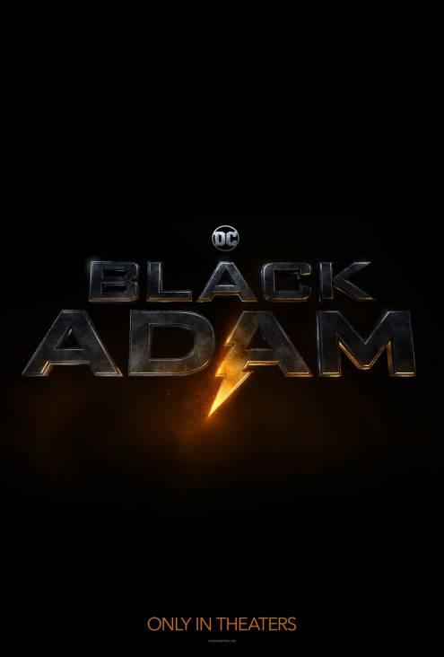 Фильм Чёрный Адам - Постеры