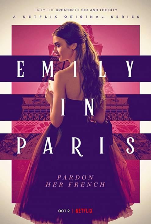 Серіал Емілі в Парижі - Постери