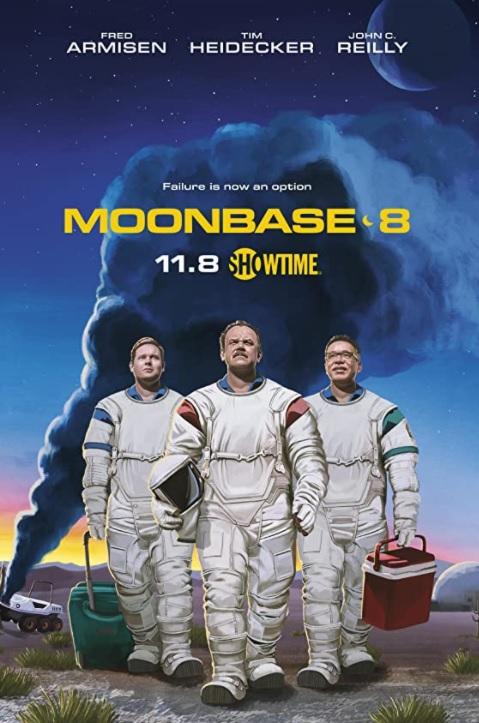 Серіал Місячна база 8 - Постери