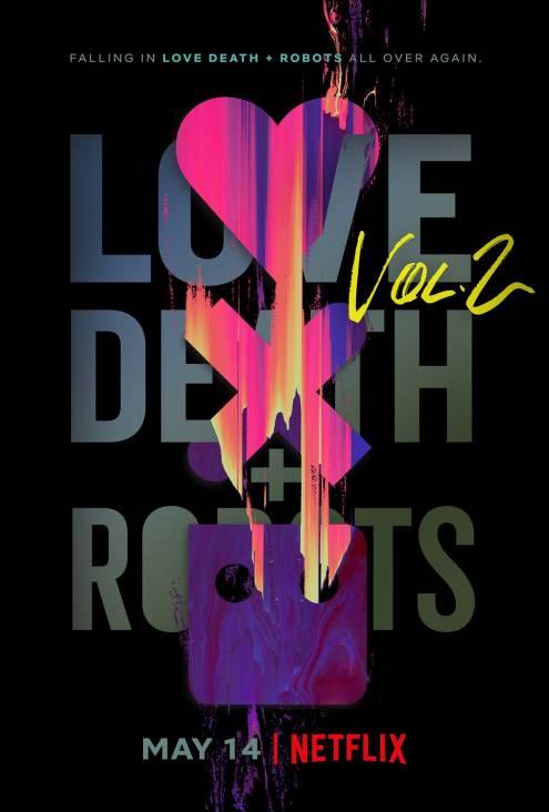 Сериал Любовь, смерть и роботы - Постеры