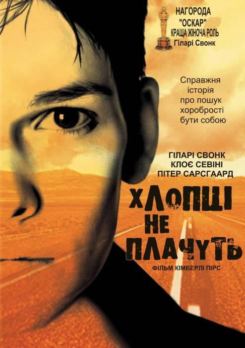 Фільм Хлопці не плачуть - Постери