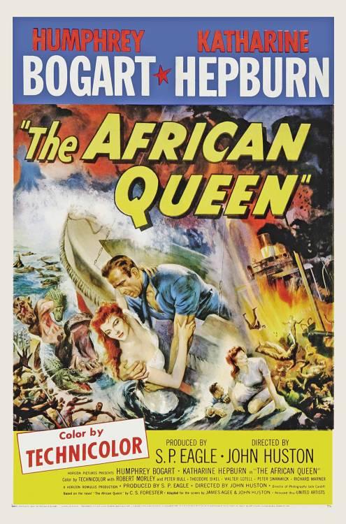 Фільм Африканська королева - Постери
