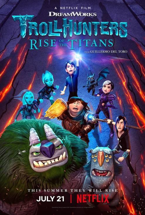 Фільм Мисливці на тролів: Повстання титанів - Постери