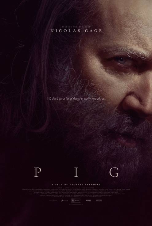 Фільм Свиня - Постери