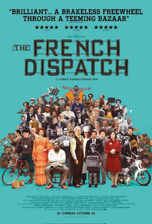Фільм «Французький вісник» від «Ліберті, Канзас івнінґ сан» - Постери
