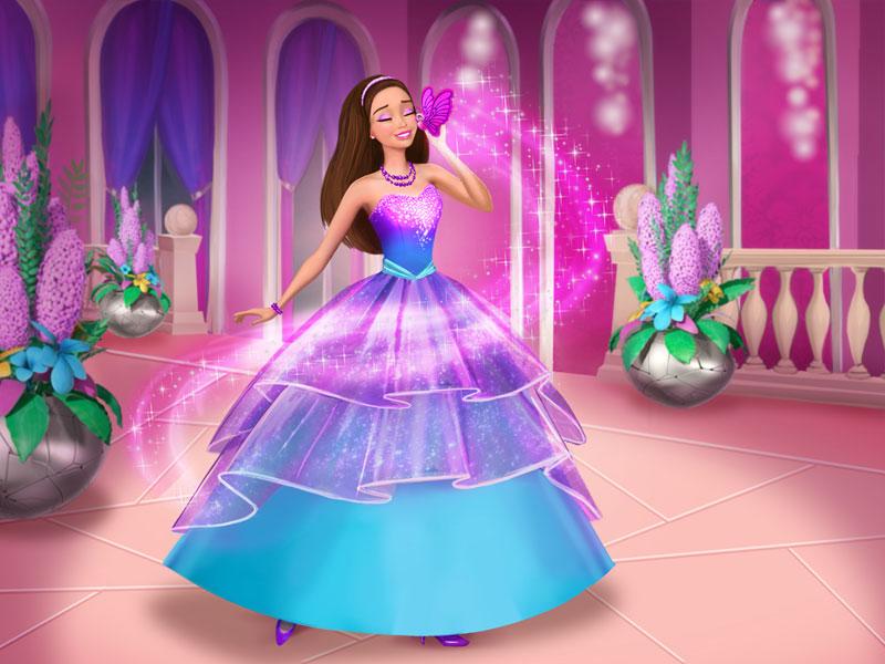 Барби: Супер Принцесса - смотреть мультфильм онлайн