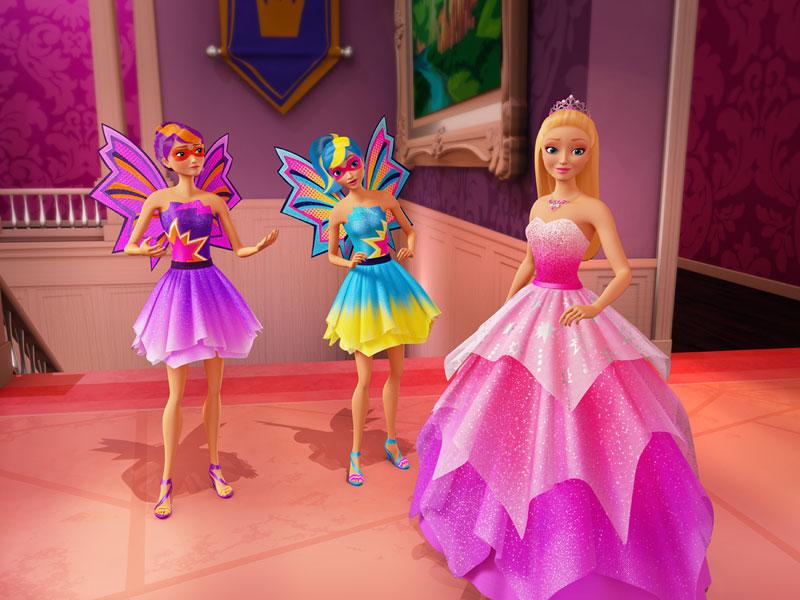«Барби: Супер-принцесса» – дублированный трейлер