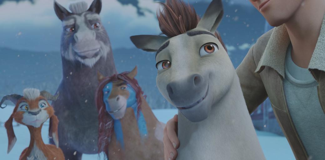 світлини із фильма Фільм - Елліот – найменше оленя Санти