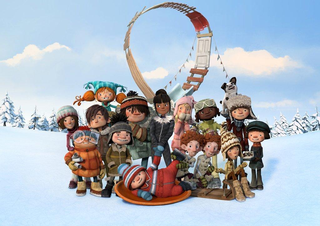 світлини із фильма Фільм - Снігові перегони