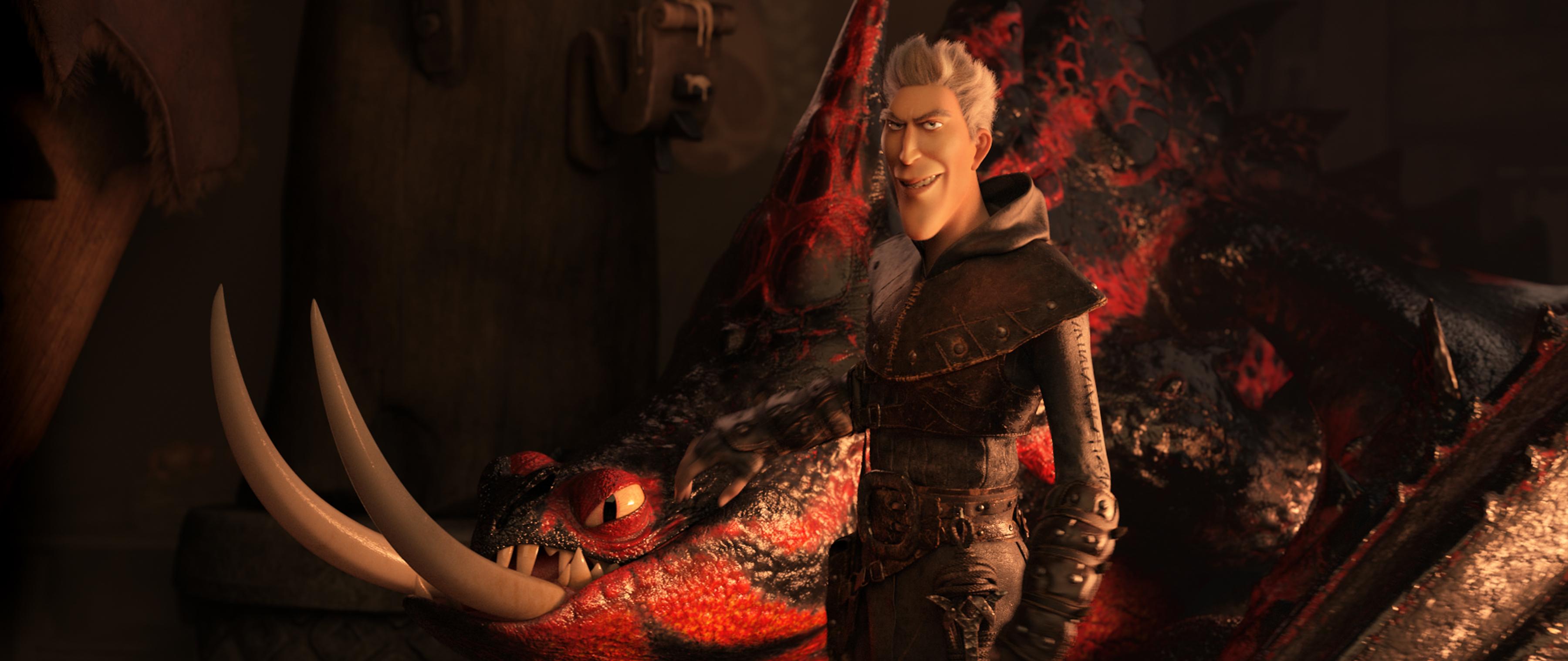 Фото из фильма Фильм - Как приручить дракона 3: Скрытый мир