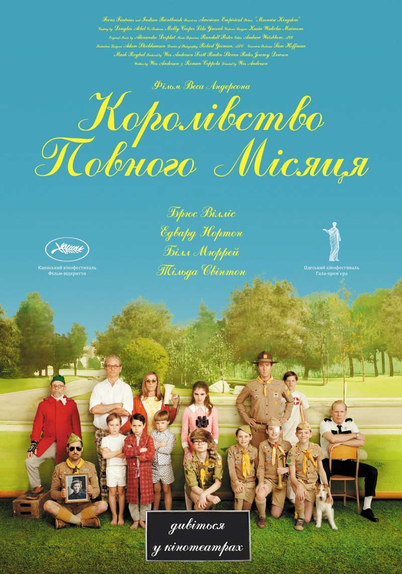 Wes Anderson Movie Poster