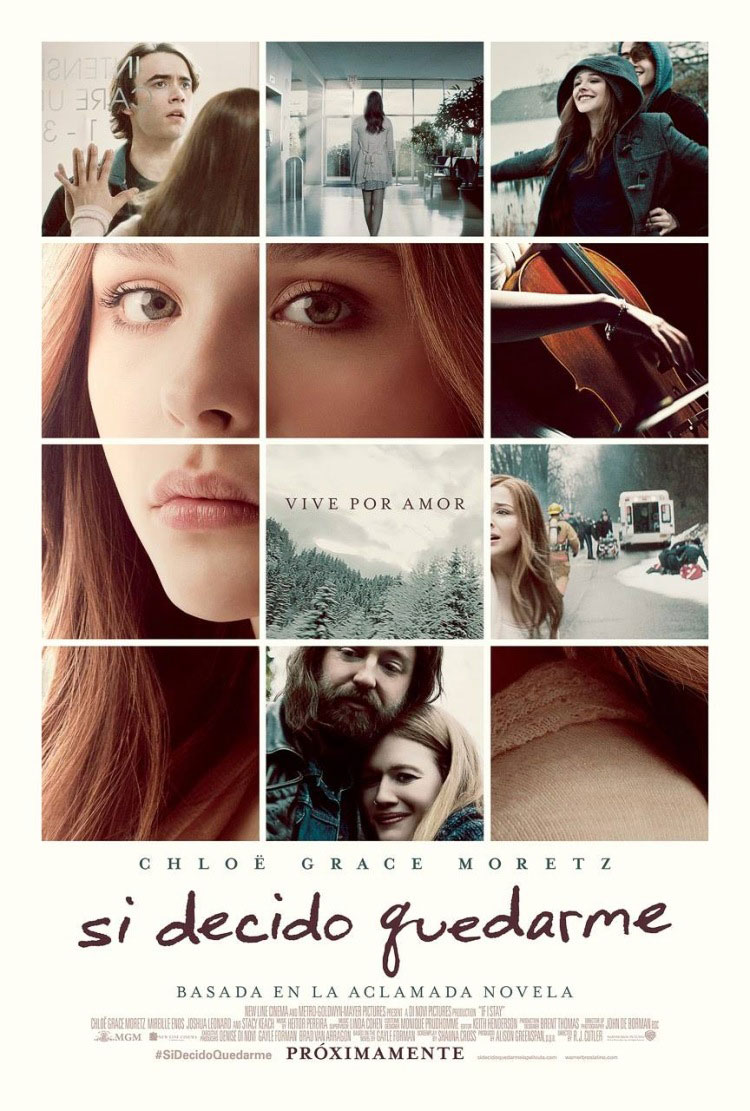 Постеры: Фильм - Если я останусь