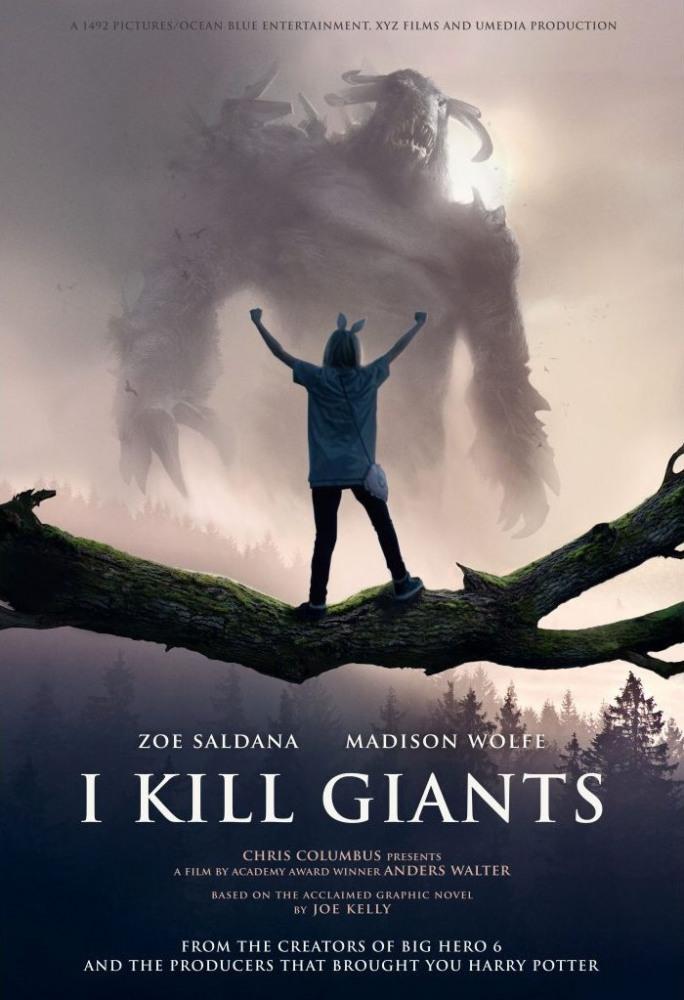 Постеры: Фильм - Я убиваю великанов