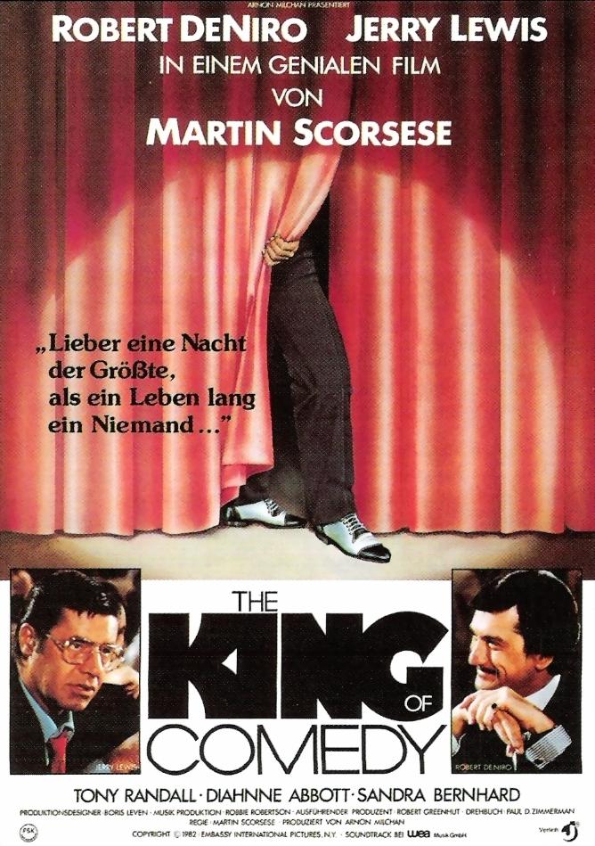 король комедии постер помогает определить