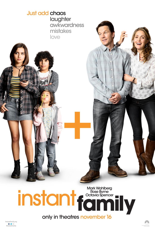 Постеры: Фильм - Семья за минуту