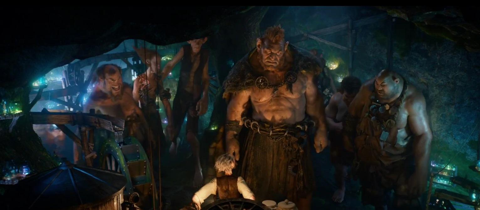 Большой и добрый великан кадры к фильму