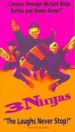 Фільм 3 ніндзя - Постери