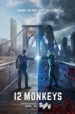 Серіал 12 мавп - Постери