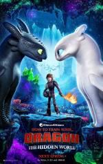 Постеры: Фильм - Как приручить дракона 3: Скрытый мир - фото 4