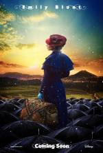 Постери: Емілі Блант у фільмі: «Мері Поппінс повертається»