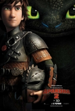 Фільм Як приборкати дракона 2 - Постери
