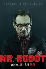 Постери: Крістіан Слейтер у фільмі: «Містер Робот»