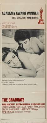 Постери: Дастін Хоффман у фільмі: «Випускник»