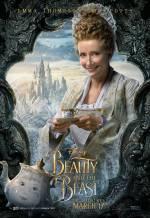 Постери: Емма Томпсон у фільмі: «Красуня і чудовисько»