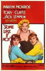 Постери: Мерилін Монро у фільмі: «У джазі тільки дівчата»