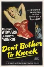 Постери: Мерилін Монро у фільмі: «Можеш не стукати»