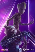 Постери: Він Дізель у фільмі: «Месники: Війна Нескінченності»