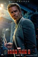 Постери: Ґай Пірс у фільмі: «Залізна людина 3»