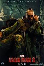 Постери: Бен Кінгслі у фільмі: «Залізна людина 3»