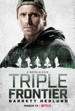 Постеры: Фильм - Тройная граница. Постер №5