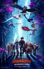Постеры: Фильм - Как приручить дракона 3: Скрытый мир - фото 9