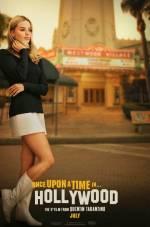 Постеры: Марго Робби в фильме: «Однажды в Голливуде»
