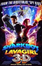 Фільм Пригоди Шаркбоя і Лави у 3-D - Постери